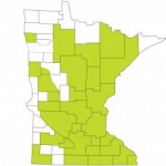 Minnesota Habitat map